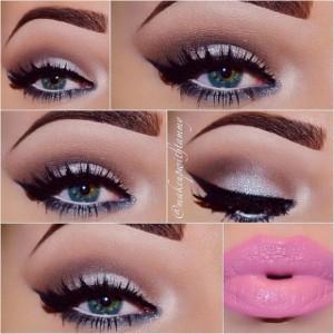 Beyaz-Ve-Pembe-Tonlarda-Göz-Makyajı-Örneği-
