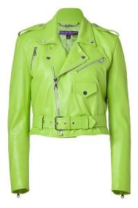 Fıstık-Yeşili-Deri-Ceket-Modeli