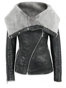 Kürklü-Siyah-Deri-Ceket-Modeli