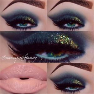 Koyu-Renk-ve-Pullu-Göz-Makyajı-Örneği