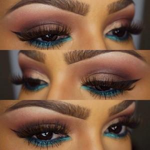 Mavi-Ve-Kahve-Tonlarında-Göz-Makyajı-Örneği-