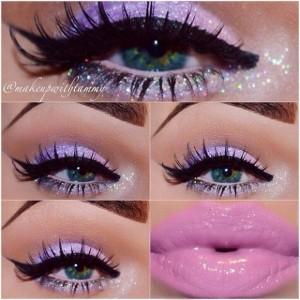 Lila-Tonlarda-Göz-Makyajı-Örneği