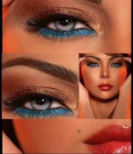 Mavi-Ve-Kahve-Simli-Göz-Makyajı-Örneği