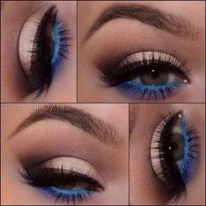Mavi-Ve-Ten-Rengi-Tonlarında-Göz-Makyajı-Örneği