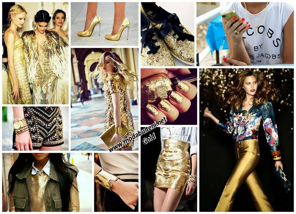 2014 Altın Rengi Modası