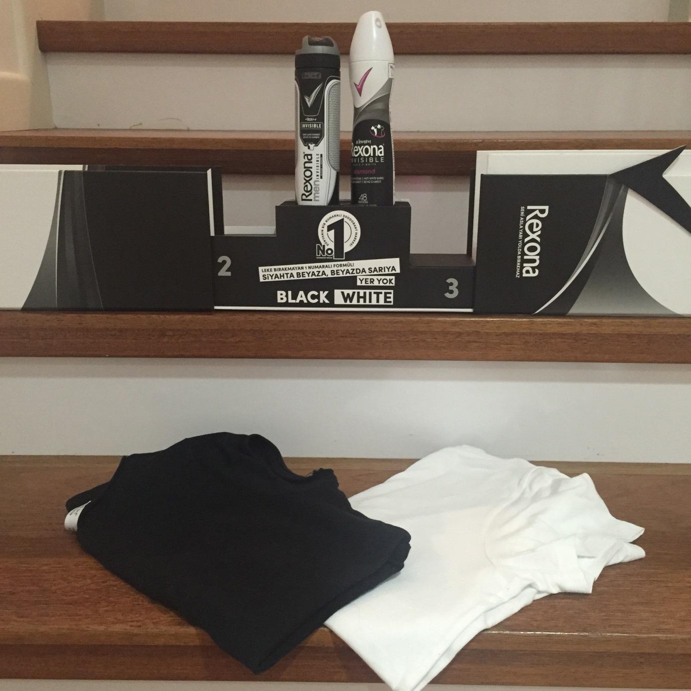 Rexona Black & White ile Güvendesin!