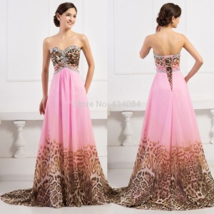 2015-New-Beading-Crystal-Floor-Length-Chiffon-Pink-Leopard-Print-Evening-Dress-Lace-up-Prom-Dresses