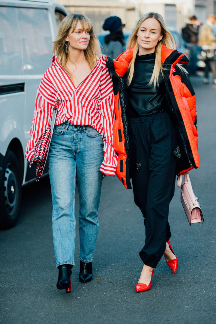 Sokak Stili: 2017-18 Sonbahar/Kış Milano Moda Haftası