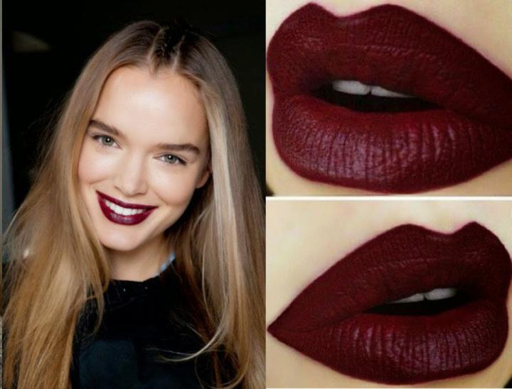 Sonbaharın Makyaj Trendi : Bordo Ruj | | Moda Sitesi